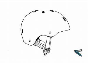 Design It Yourself Helmet Templates
