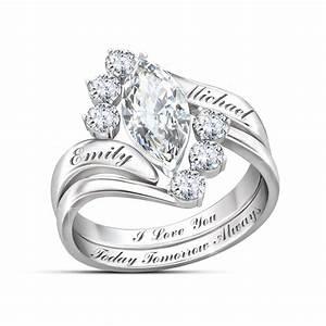 5 gorgeous alternatives to diamond engagement rings With bradford exchange wedding rings