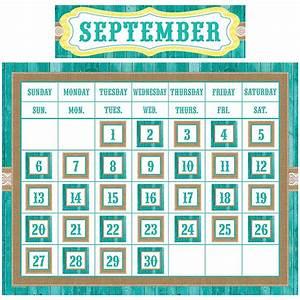 Shabby Chic Calendar Set - TCR9541 Teacher Created