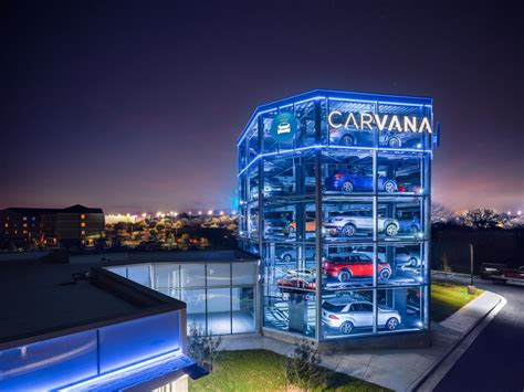 "Carvana Opens Giant Car ""vending Machine"" In Austin"
