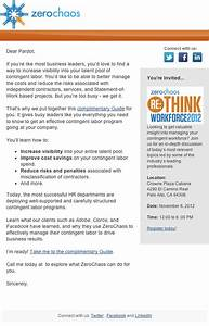 7 examples of successful email templates a case study With sample email blast template