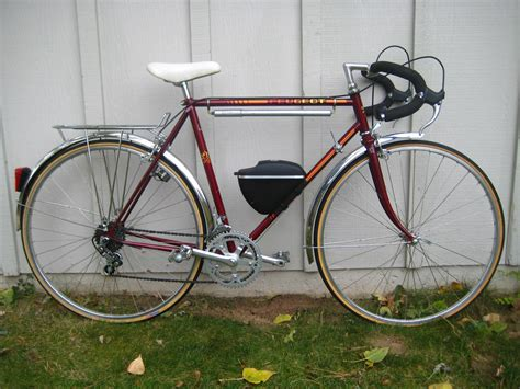Peugeot Vintage Bikes by Vintage Peugeot Touring Bike Found At Garage Sale Bicycling