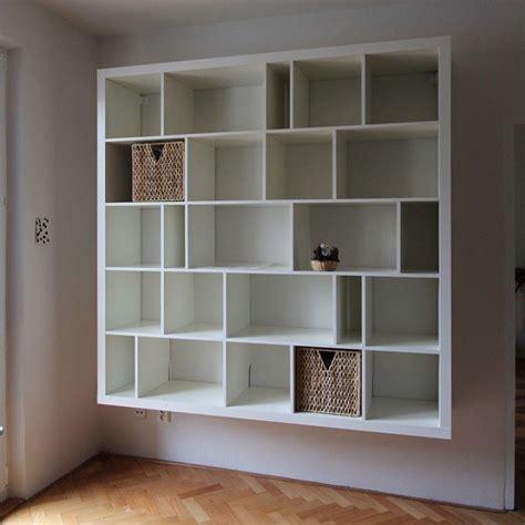 ideas  wall mounted bookshelves  pinterest