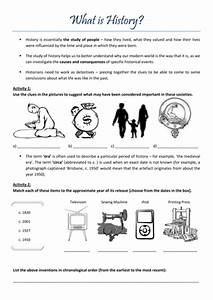 U0026 39 What Is History U0026 39  Introductory Worksheet By Claireebolton