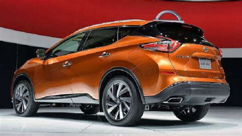 2018 Nissan Murano Changes Release Date Convertible Interior