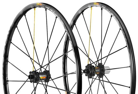 mavic crossmax er sl wheel set