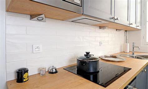 credence sur carrelage cuisine carreler une cr 233 dence en carreaux de fa 239 ence