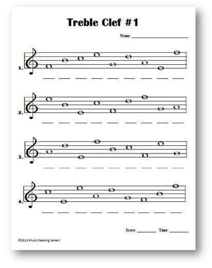 Intro To Treble Spaces Note Names Kids Worksheet  Google Search  Lesson Plans Theory