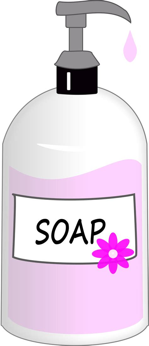 small bathroom sink clipart pink liquid soap