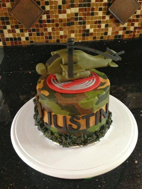 joyce gourmet army helicopter birthday cake