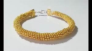 Comment Faire Un Bracelet En Perle : diy comment faire un bracelet en perles de rocaille youtube ~ Melissatoandfro.com Idées de Décoration
