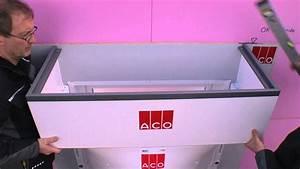 Wasseruhr Einbauen Anleitung : montage aco lichtschacht mit h henverstellbarem ~ A.2002-acura-tl-radio.info Haus und Dekorationen