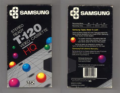 cassette vhs blank vhs cassette packaging design trends a lost