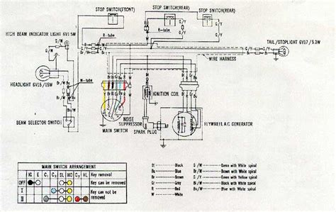 Honda 50 Wire Diagram by Z 50 Wiring Diagrams