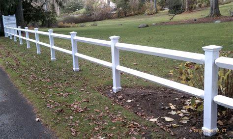 diamond rail riverside fence