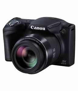 Canon PowerShot SX410 20.0 MP Digital Camera IS (Black ...