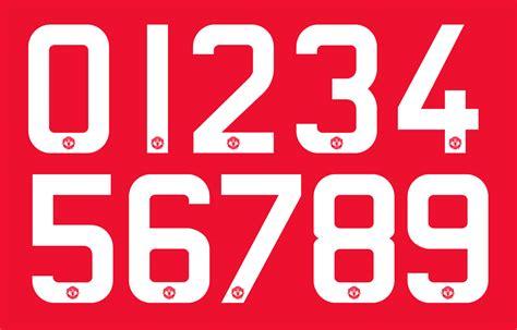 adidas manchester united 15 16 font revealed footy headlines
