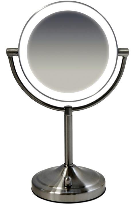 miroir a maquillage avec lumiere miroir homedics hm mir 8150 4216270 darty