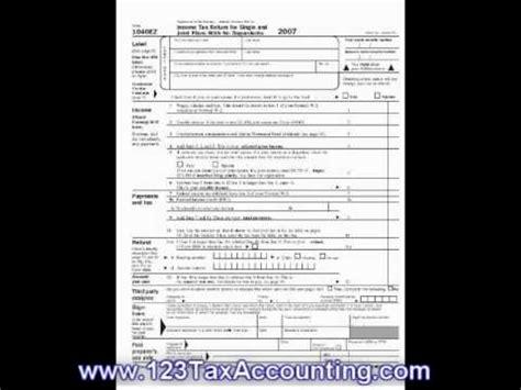 ez printable tax forms youtube