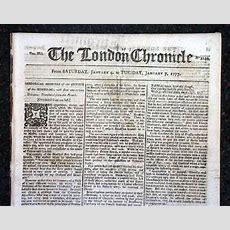 Revolutionary war newspaper template pennsylvania chronicle a london revolutionary war newspaper rarenewspaperscom maxwellsz