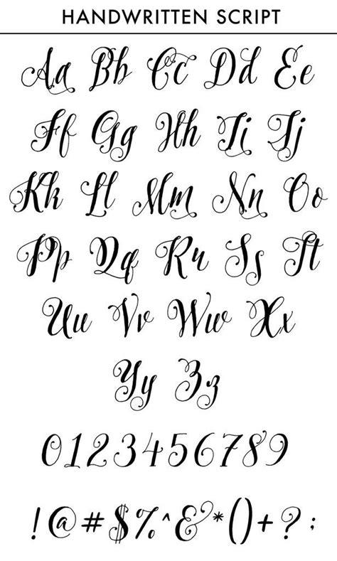 initials pocket square personalized custom monogram tattoo fonts alphabet hand lettering