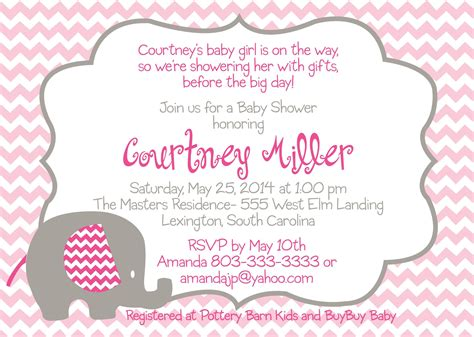 fascinating  baby shower invitation templates