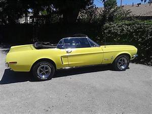 1968 FORD MUSTANG CONVERTIBLE - 177459