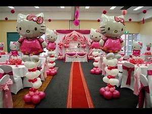 Hello Kitty Theme Decorations - Specialized for Balloon