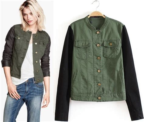 Green Jackets For Women - Jacket To
