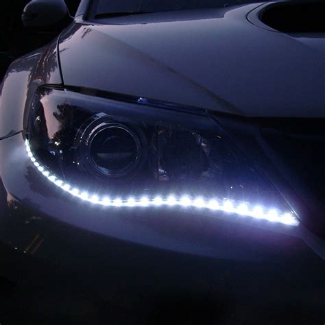 led light strips for cars exterior aliexpress com buy waterproof car auto decorative