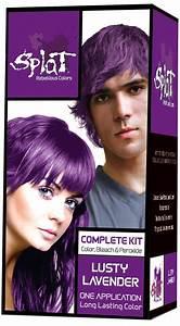 Splat Rebellious Colors Purple Hair Dye Kit Lusty Lavender