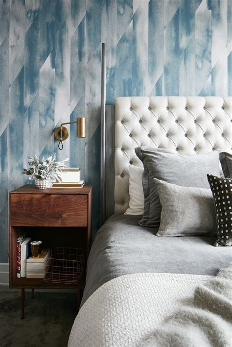 bedrooms  statement wallpaper