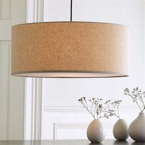 drum pendant modern pendant lighting by west elm
