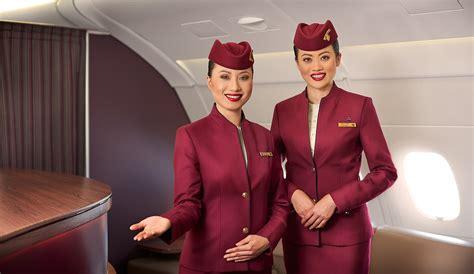 airways cabin crew on board experience qatar airways