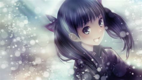 anime cute girl hd wallpaper