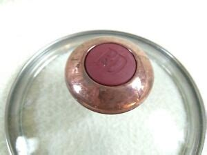 paula dean replacement red knob    rim glass replacement lid ebay