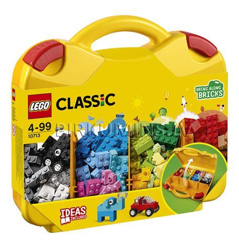 10713 LEGO® Classic Radošā ceļasoma, no 4 līdz 99 gadiem NEW 2018 10713 | LEGO® Classic | LEGO ...