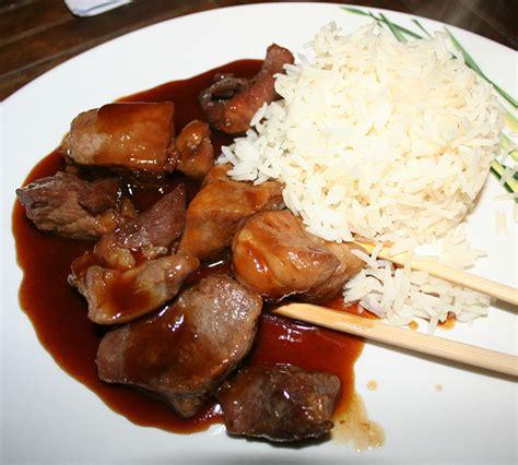 cuisiner un sauté de porc sauté de porc au caramel recettes cookeo