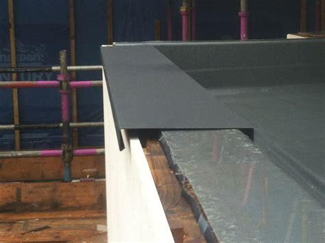 parapet capping  aluminium   installed jackdaw ridge quin  clare