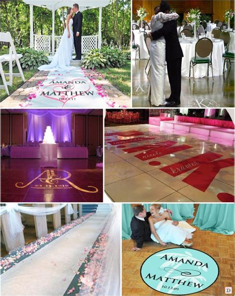 tapis de sol mariage idees decoration salle mariage