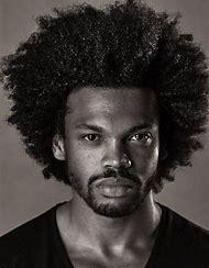 Black Man Afro Hairstyle