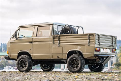 Vw Golf Syncro by Spotted 1989 Volkswagen T3 Doka Syncro