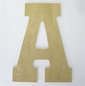 gold glitter letters wooden nursery for baby girl large 13 With large gold wooden letters