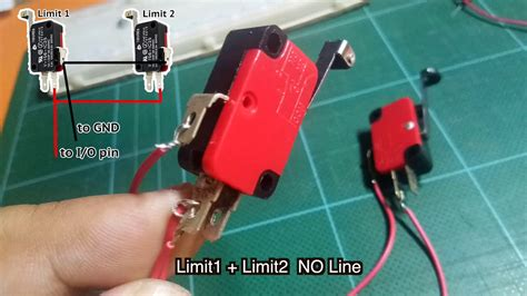 Limit Switches Wiring Using Same Pin Arduino Youtube