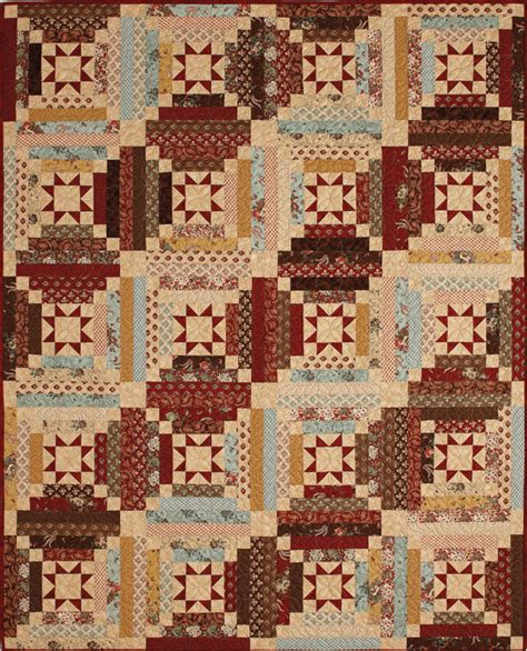 log cabin quilt patterns libby s log cabin quilt project the quilting company