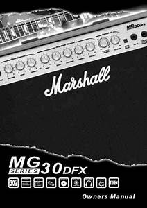 Marshall Mg30dfx Amplifier Download Manual For Free Now