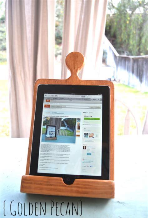 tablet holder for kitchen of diy pottery barn kitchen tablet holder