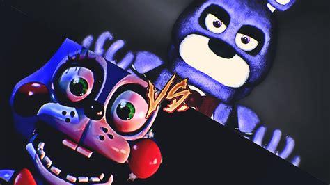 [fnaf Sfm] Toy Bonnie Vs. Titan Bonnie