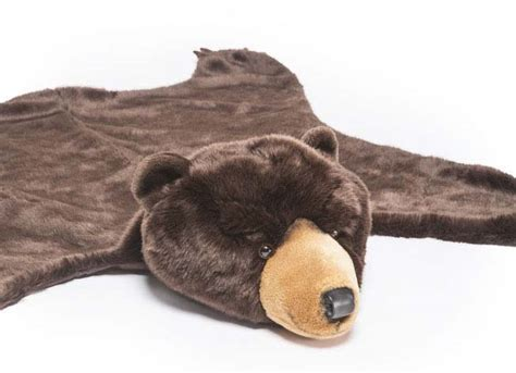 SOFT CUDDLY BEAR RUG (AND BLANKET!!)