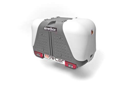 coffre sur attache remorque towbox pour attelage remorque